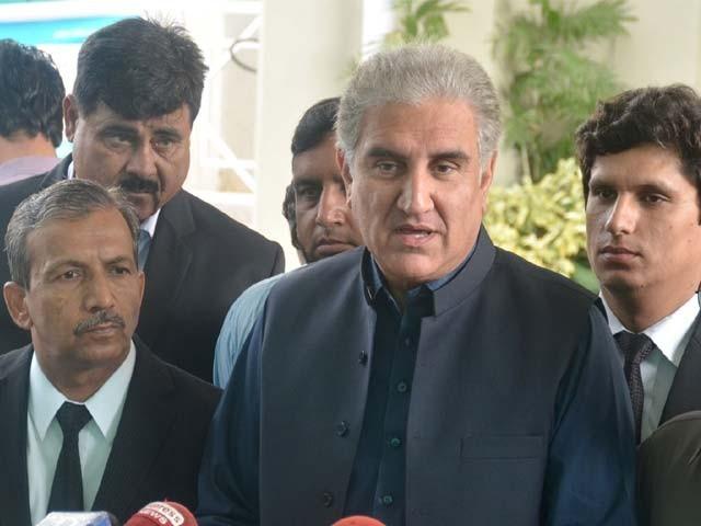 سیاسی جماعتیں عید کے بعد احتجاج کرنے کا شوق پورا کرلیں، شاہ محمود قریشی۔ فوٹو: فائل