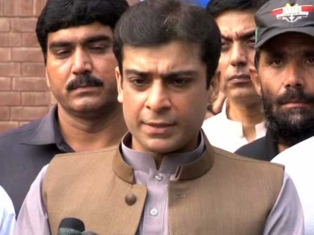 عمران خان کو کارکردگی بہترکرنا ہوگی یا معافی مانگ کر گھر جانا ہوگا، حمزہ شہباز فوٹو: فائل