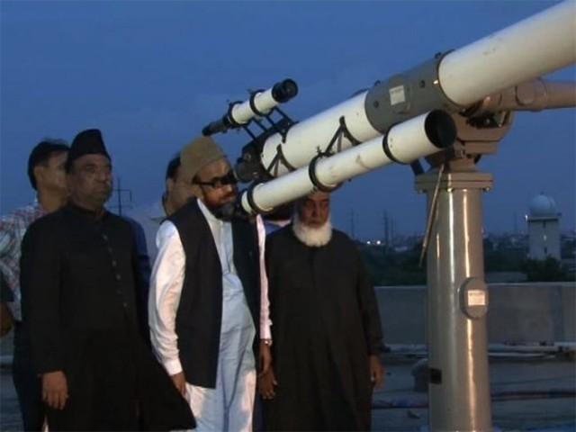 عیدالفطر کے چاند کا اعلان رویت ہلال کمیٹی کرے گی، اعلامیہ، فوٹو: فائل