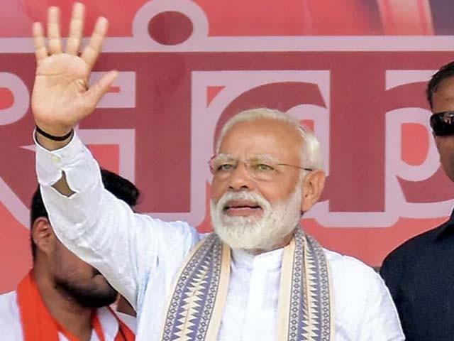 ہم سب کو ملکر بھارت کی تعمیر و ترقی کے لیے کام کرنا ہے۔ مودی فوٹو : فائل