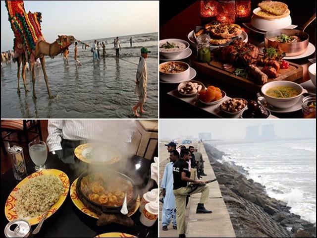 کراچی کے لوگ چٹ پٹی چیزیں بہت شوق سے کھاتے ہیں۔ (فوٹو: فائل)