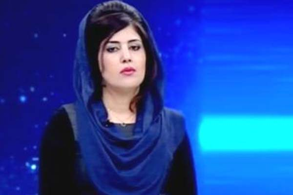 Afghan News Presenter