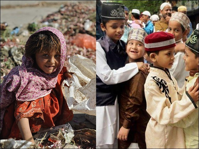 عیدالفطر ہو یا عیدالاضحیٰ، دونوں پر غریبوں کا کوئی پرسان حال نہیں ہوتا۔ (فوٹو: فائل)