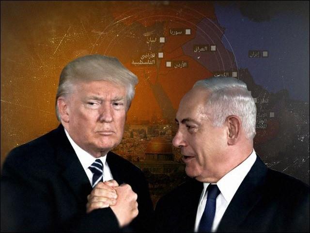 صدی کی ڈیل میں فلسطین کے خلاف سازش کی جارہی ہے۔ (تصویر: انٹرنیٹ)