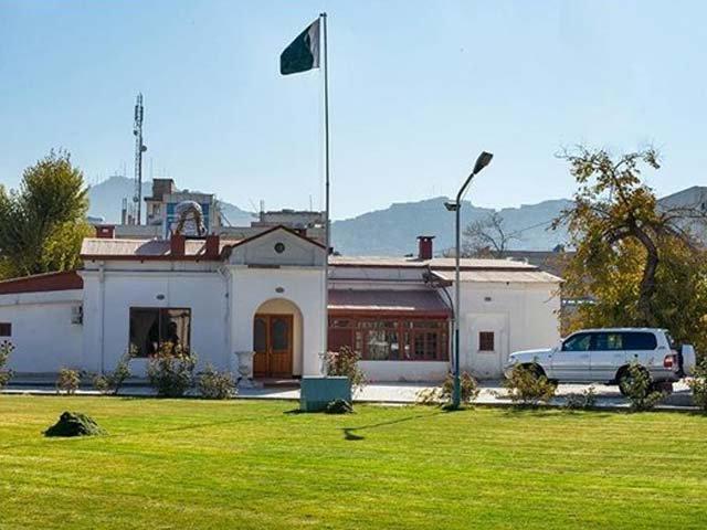 سفارت خانے کا عملہ اور عمارت محفوظ ہے۔ فوٹو : فائل