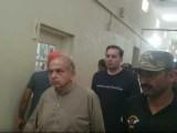 احتساب عدالت نے ملزموں کو 4 روزہ راہداری ریمانڈ پر نیب کے حوالے کردیا فوٹو:اسکرین گریب