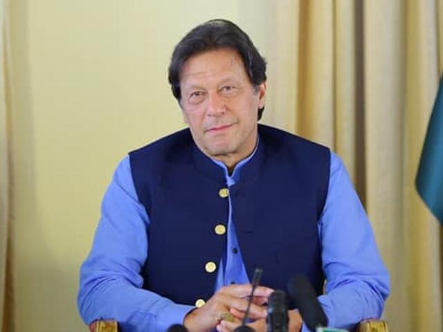 پاکستانی ٹیم شکست کا خوف نکال کر آخری گیند تک لڑے، وزیراعظم عمران خان۔ فوٹو : فائل