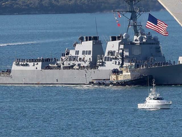 امریکا نے آئل ٹینکرز پر تازہ حملے کے ردعمل میں مشرق وسطیٰ میں مزید نفری تعینات کرنے کا فیصلہ کیا۔ فوٹو : فائل