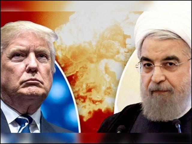 امریکا ایران کشیدگی خطے کےلیے خطرناک ہے۔ (فوٹو: فائل)