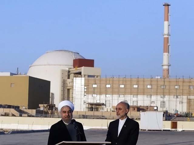 ایران کے سپریم لیڈر آیت اللہ خامنہ ای نے بھی چند روز قبل نیوکلیر پاور پلانٹ کا دورہ کیا تھا (فوٹو : فائل)