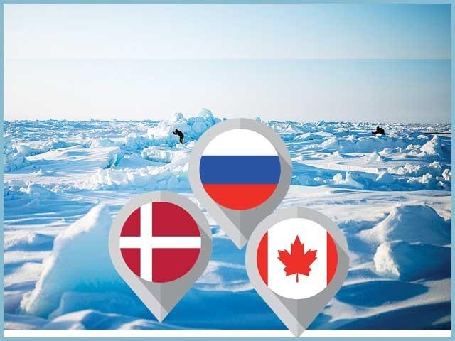 روس، ڈنمارک اور کینیڈا کے درمیان محاذ آرائی کا فائدہ سائنس کو پہنچ رہا ہے