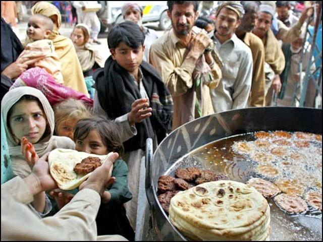 بھوک کا اسٹیٹس بہت خطرناک ہے۔ (فوٹو: انٹرنیٹ)