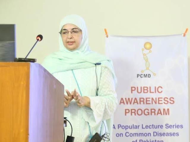 پورے پاکستان میں بچوں کے ماہرین انتہائی ناکافی ہیں، ڈاکٹر نجمہ پیٹل