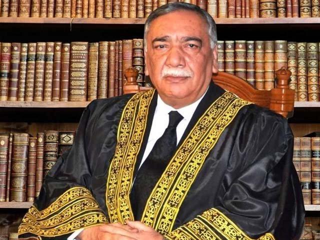 چیف جسٹس کی سربراہی میں عدالت عظمیٰ کا بنچ 16 جولائی کو جج ارشد ملک کے خلاف ویڈیو کیس کی سماعت کرے گا۔ فوٹو:فائل