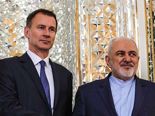 ایرانی اور برطانوی وزرائے خارجہ کے درمیان ٹیلی فونک گفتگو ہوئی۔ فوٹو : فائل