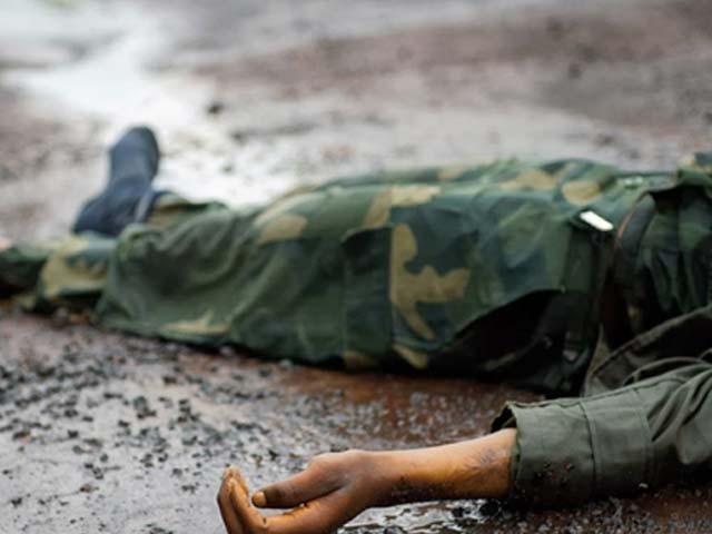 بھارتی اہلکار رام کمار نے سرکاری سے خود کو گولی مار ۔لی۔ فوٹو : فائل