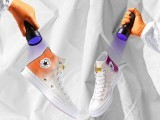 دو کمپنیوں نے ملکر ایسے کینوس شوز بنائے ہیں جو دھوپ میں موجود الٹراوائلٹ شعاعوں سے رنگ بدلتے ہیں ۔ فوٹو: چائنا ٹاؤن ویب سائٹ