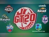 ٹی ٹوئنٹی فارمیٹ کی یہ لیگ 25 جولائی سے انٹاریو میں کھیلی جارہی ہے۔ فوٹو : فائل