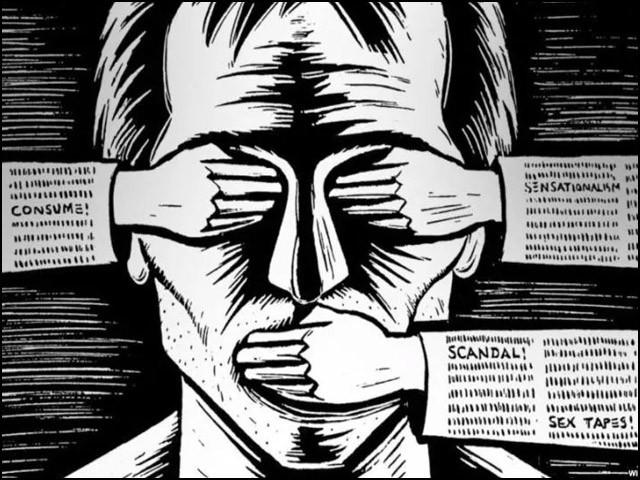 موجودہ دور میں میڈیا کو آزادی اظہار رائے پر پابندی اور سنسرشپ کا سامنا ہے۔ (فوٹو: انٹرنیٹ)