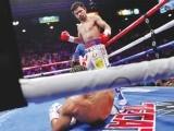 فلپائنی باکسر مینی پاکیو نے امریکی حریف کیتھ ٹھورمین کو شکست دی۔
