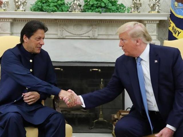 وزیراعظم عمران خان نے صدر ٹرمپ کو دورہ پاکستان کی دعوت دی جس کو انہوں نے قبول کرلیا، اعلامیہ