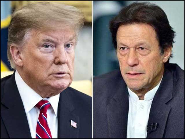 وزیراعظم عمران خان کے دورۂ امریکا سے قبل پاک امریکا تعلقات سردمہری کا شکار تھے۔ (فوٹو: فائل)