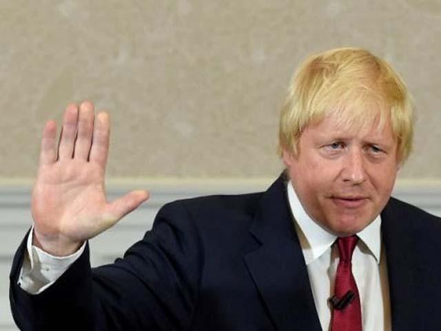 55 سالہ بورس جانسن اس سے قبل میئر لندن اور وزیر خارجہ بھی رہے۔ فوٹو : فائل