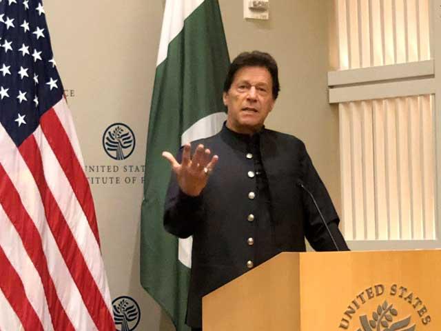 یہ پہلا موقع ہے کہ پاکستانی حکومت، فوج اور امریکی حکام ایک پیج پر ہیں، عمران خان، فوٹو:  این این آئی