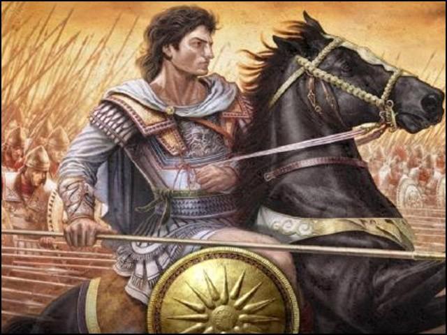 پورس اور اس کی فوج نے الیگزینڈر کو پیچھے ہٹنے پر مجبور کردیا تھا۔  (فوٹو: انٹرنیٹ)