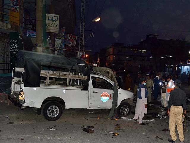 وزیر اعظم کی دھماکے میں زخمیوں ہونے والوں کو بہترین طبی امداد فراہم کرنے کی ہدایت ۔ فوٹو: اے پی پی