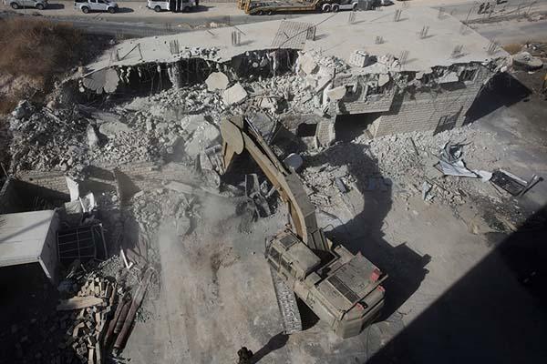 Israel Demolish Home Palestine
