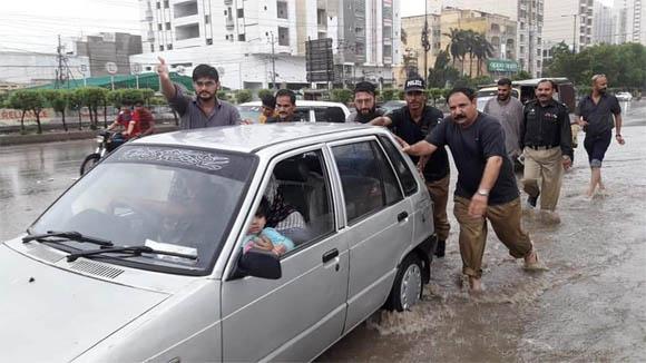 Karachi Rain 2019