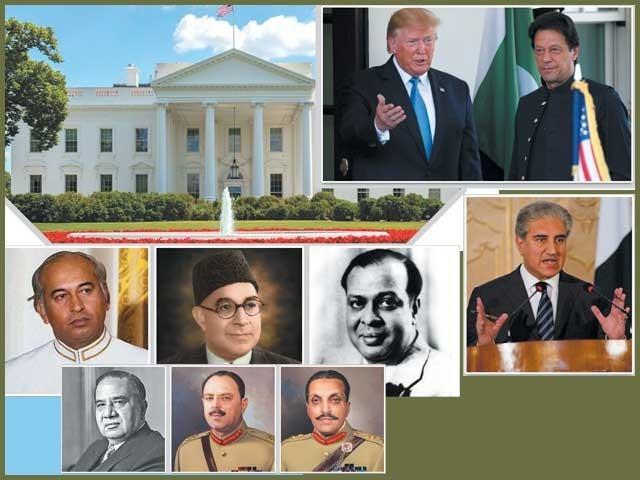 امریکہ کا دورہ کرنے والے پاکستان کے صدور اور وزراء اعظم میں عمران خان 42 ویں سربراہ ہیں