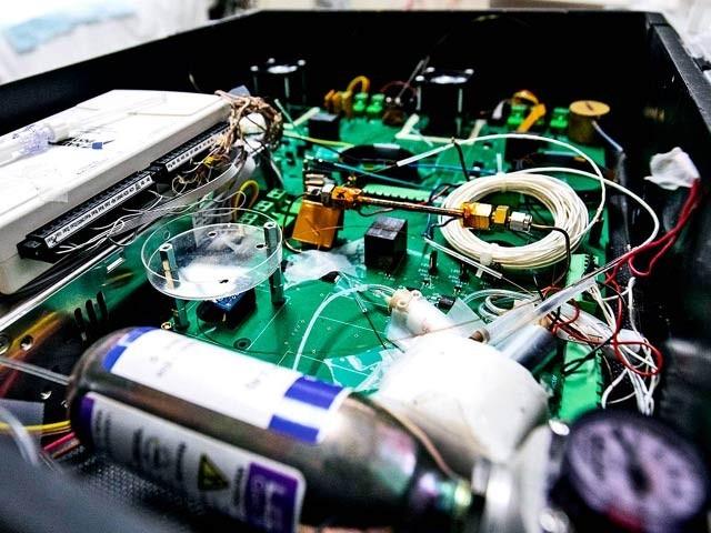 امریکی ماہرین نے یہ آلہ تیار کیا ہے جو فوری طور پر پھیھپڑوں کے کئی جان لیوا امراض کی شناخت کرسکتا ہے۔ فوٹو: میڈیکل نیوزٹوڈے