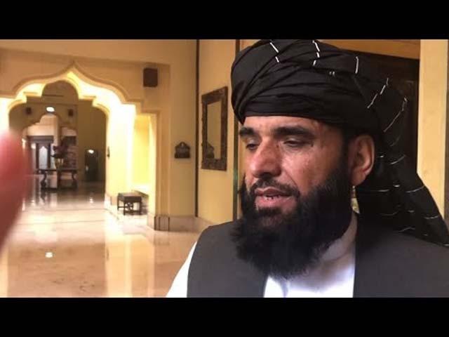 امریکا اور طالبان کے نمائندوں کے درمیان آخری نکات پر بحث جاری ہے۔ ترجمان طالبان فوٹو : فائل
