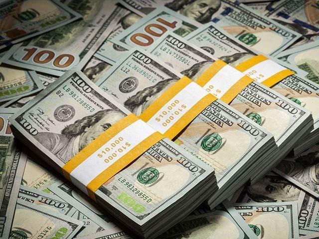 زرمبادلہ کے سرکاری ذخائر کی مالیت میں 3کروڑ 80لاکھ ڈالر کی کمی سے7 ارب 72 کروڑ 91 لاکھ ڈالر کی سطح پر آگئی۔ فوٹو:فائل