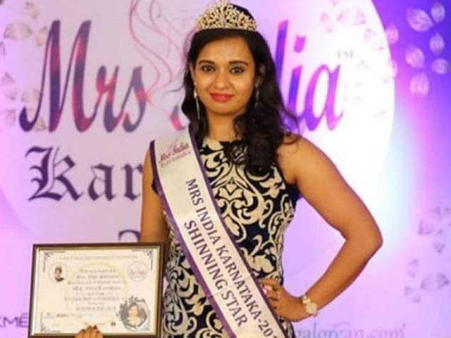 جیوتی مالانی مس انڈیا شائننگ اسٹار کا خطاب جیت چکی تھی فوٹوبھارتی میڈیا