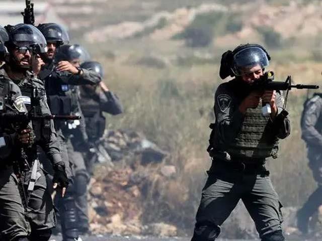نوجوانوں کی شہادت اسرائیلی سرحد کے نزدیک ہوئی فوٹو:فائل