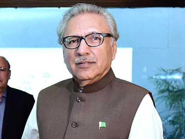 پاکستان نے بھارت کے ساتھ سفارتی تعلقات میں کمی کی ہے،صدرمملکت فوٹو: فائل