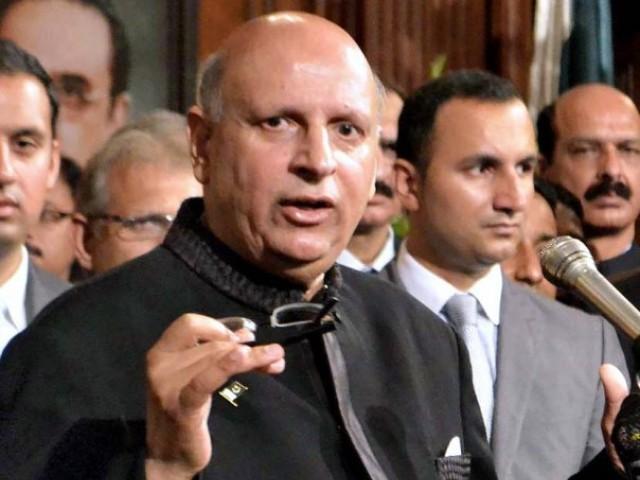 بھارت کا جنگی جنون خطے میں تباہی لائے گا، گورنر پنجاب فوٹو: فائل