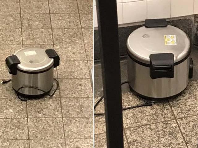 دو پریشر ککر ورلڈ ٹریڈ سینٹر اور ایک دوسرے مقام پر رکھا گیا (فوٹو : امریکی میڈیا)
