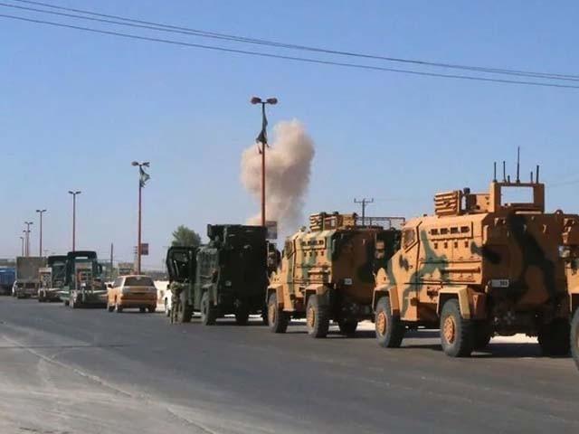 شام نے ترک فوج پر باغیوں کی مدد کا الزام لگایا ہے (فوٹو : رائٹرز)