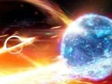 لائگو رصدگاہ نے پہلی مرتبہ نیوٹران ستارے پر حملہ آور بلیک ہول کے ثقلی ثبوت دریافت کئے ہیں۔ فوٹو: اے آر سی سیںٹر آف ایکسی لینس