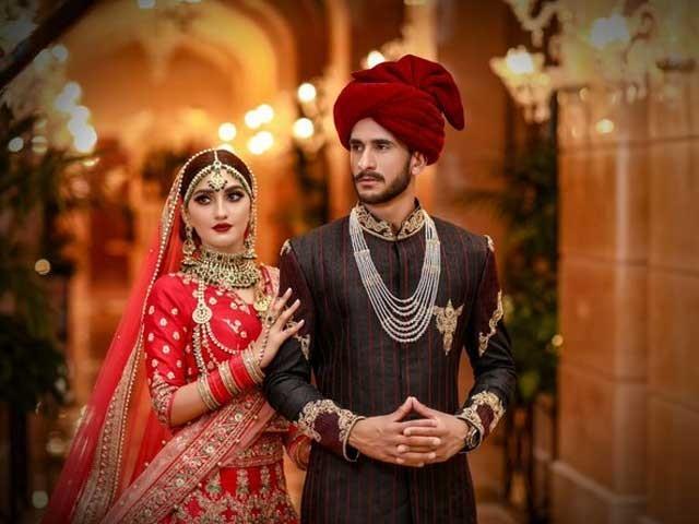 کرکٹر حسن علی کی شادی کے چرچے سوشل میڈیا پر ابھی تک جاری ہیں، فوٹو ٹوئٹر