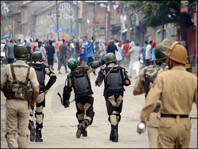 مقبوضہ کشمیر میں بڑے پیمانے پر قتل عام شروع ہوسکتا ہے، جینوسائیڈ واچ فوٹو:فائل