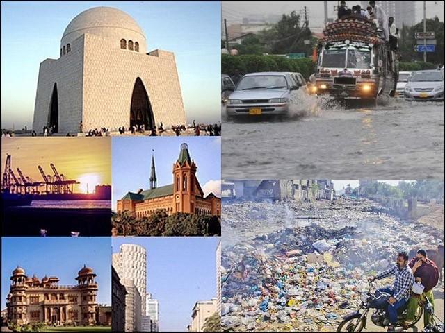 کراچی ماضی کی طرح ایک بار پھر گندے شہر میں تبدیل ہوچکا ہے۔ (فوٹو: فائل)