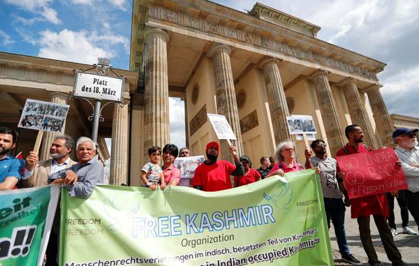 Kashmir protest in germoney 2