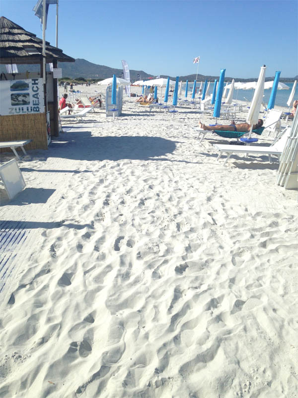 Sardena white sand
