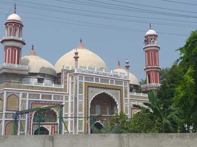 مسجد دائی آنگہ آج بھی تاریخی لحاظ سے بڑی اہمیت کی حامل ہے ، فوٹوایکسپریس