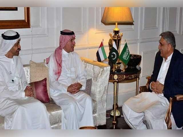 سعودی عرب اور متحدہ عرب امارات کے ساتھ برادرانہ تعلقات باعث فخر ہیں، آرمی چیف فوٹو:آئی ایس پی آر